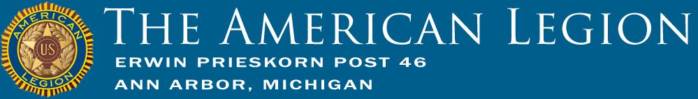 Erwin Prieskorn American Legion Post 46, Ann Arbor
